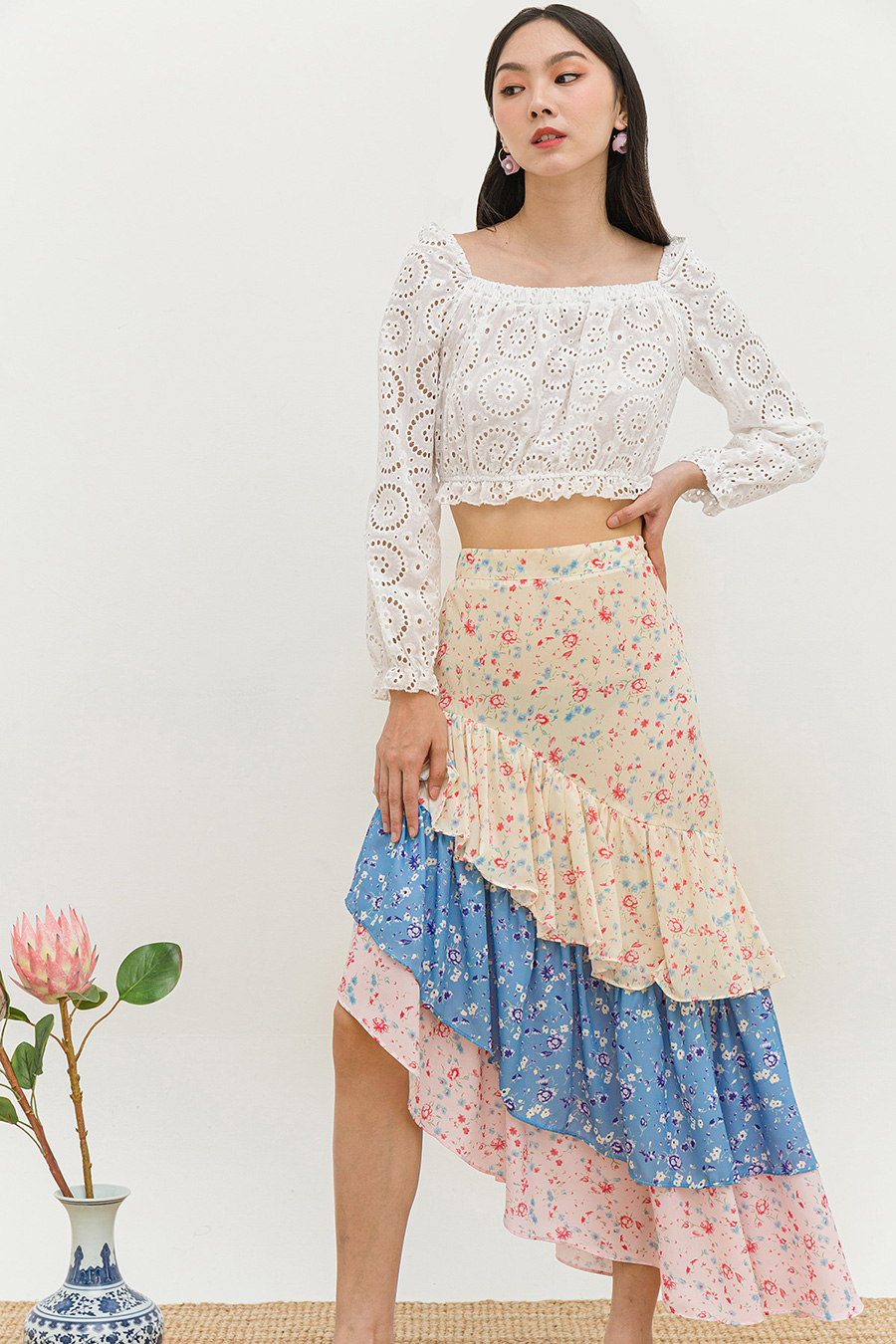 *SALE* EMILIE SKIRT - PRAIRIE