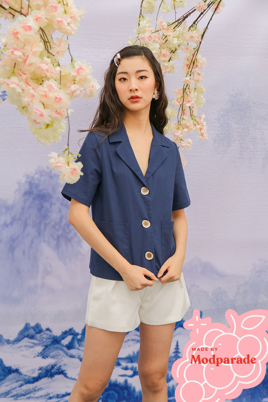 *SALE* EMMET TOP - MIDNIGHT [BY MODPARADE]