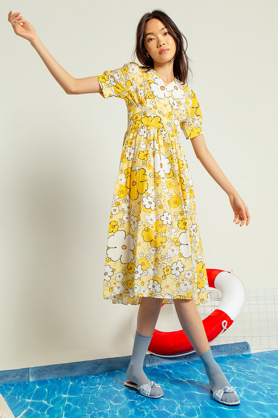 ESMERALDA DRESS - PANSY