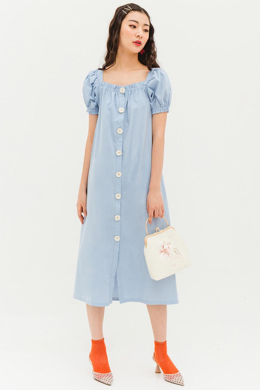 ESTELLE DRESS - POWDER [BY MODPARADE]