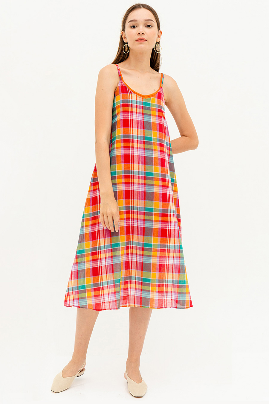 *SALE* ETIENNE DRESS - PLAID