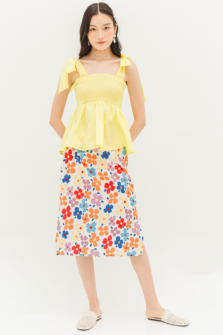 *BO* ETTA SKIRT - POPPY
