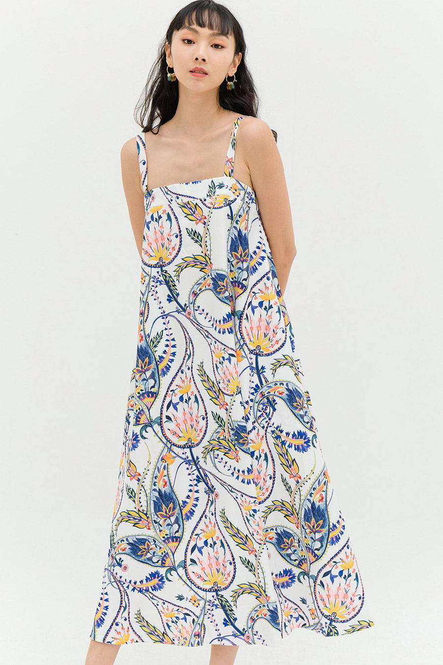 *RESTOCKED* FILY DRESS - CLOUD PAISLEY [BY MODPARADE]