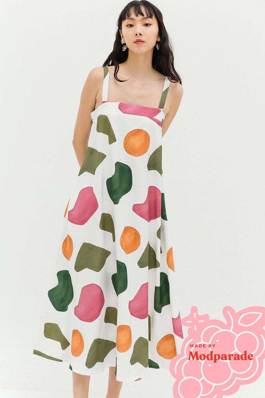 *RESTOCKED* FILY DRESS - SERENE [BY MODPARADE]