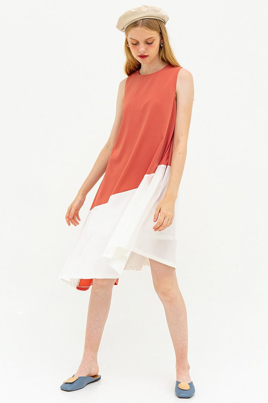 FIUGGI DRESS - ROSE DAWN [BY MODPARADE]