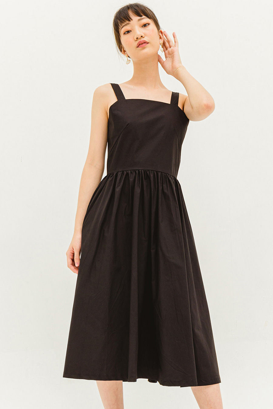 FLORINE DRESS - NOIR