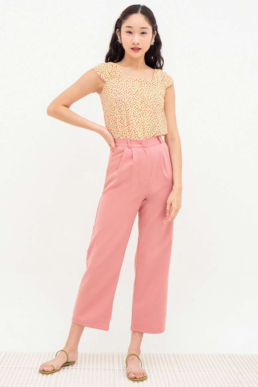 *RESTOCKED* FRANCINE PANTS - FRENCH PINK
