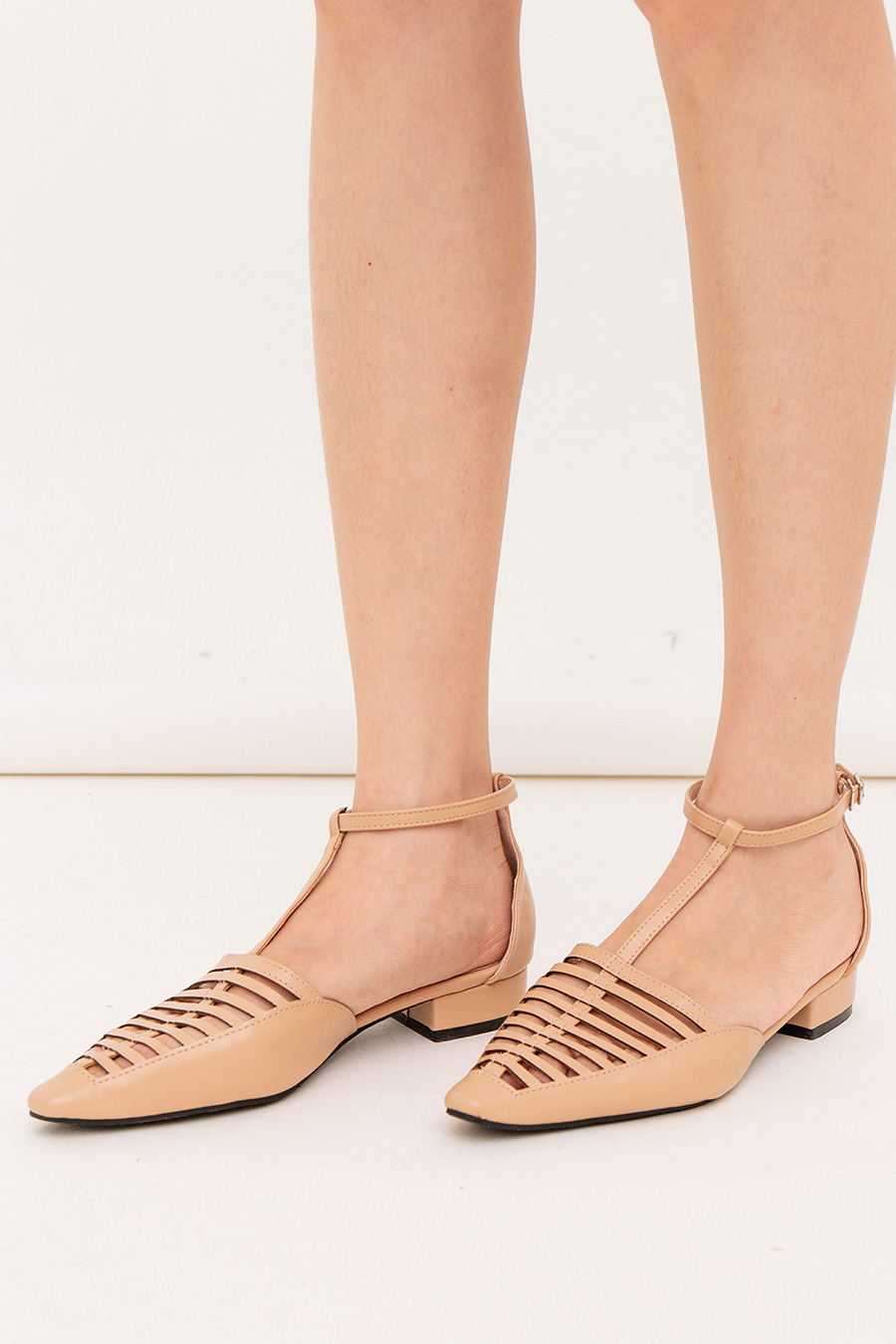 *SALE* FRANCISQUE SHOES - NUDE