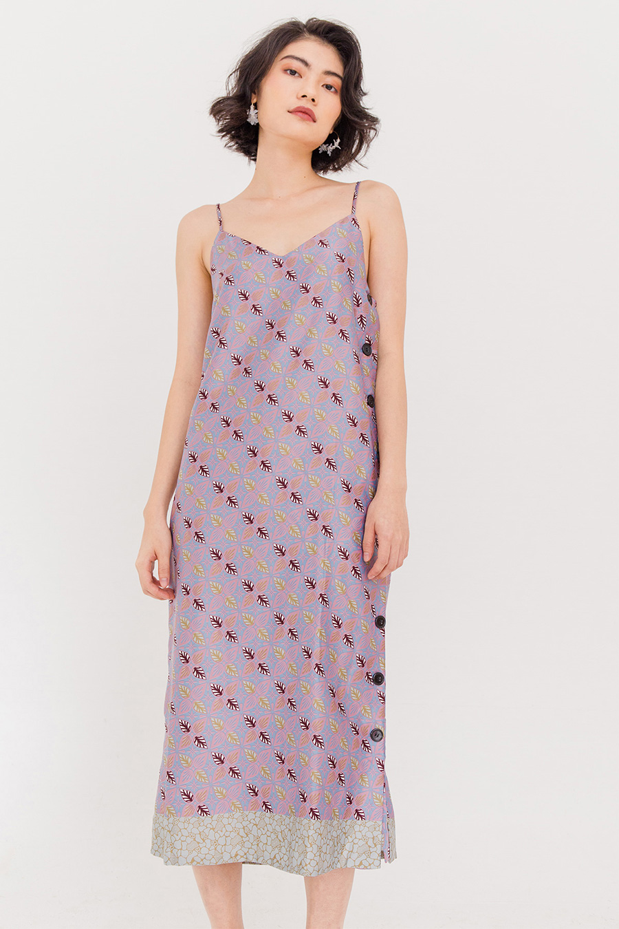 FRESA MIDI DRESS - HEATHER [BY MODPARADE]