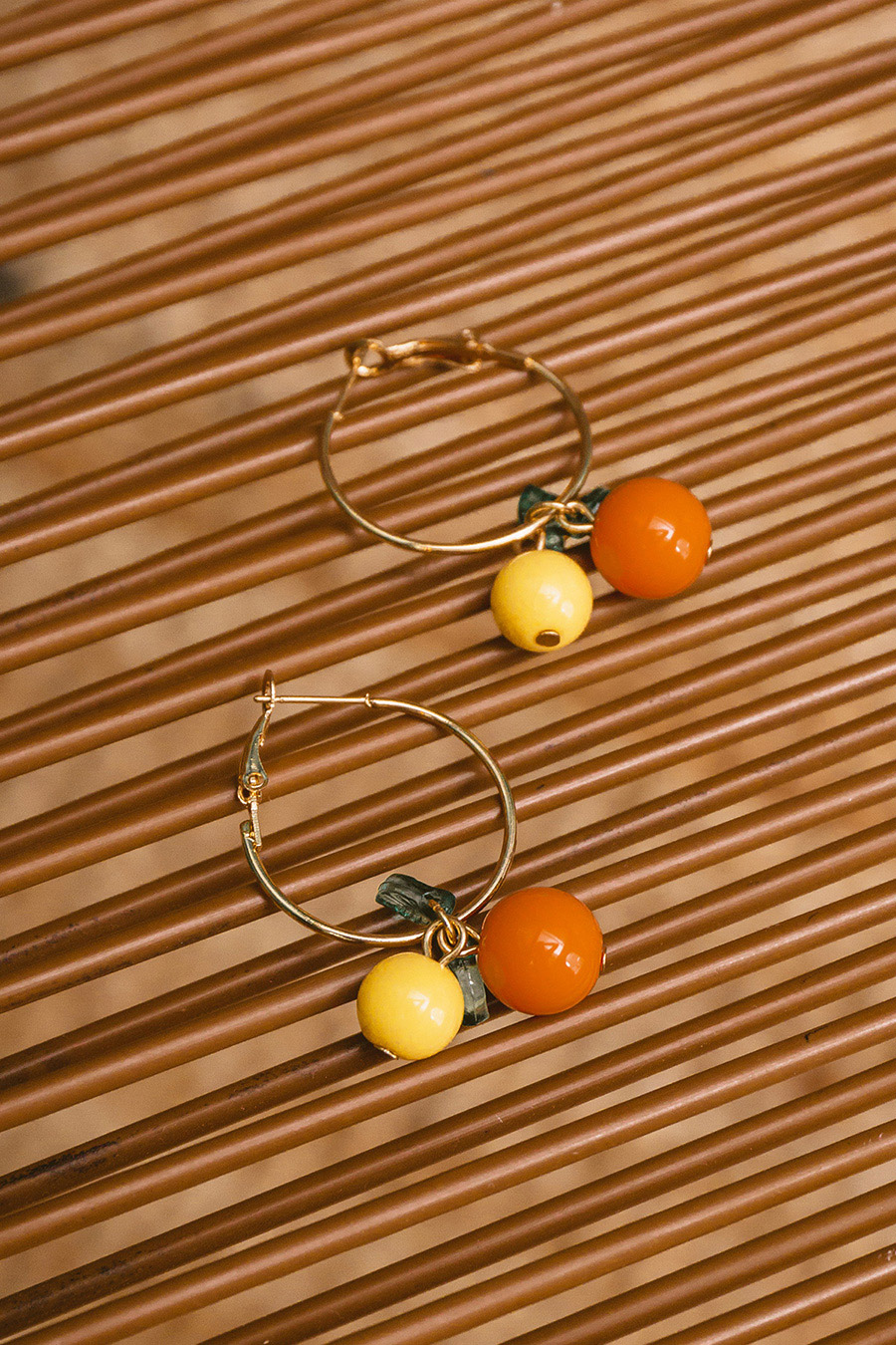 *RESTOCKED* FRUITIE EARRING - CITRUS
