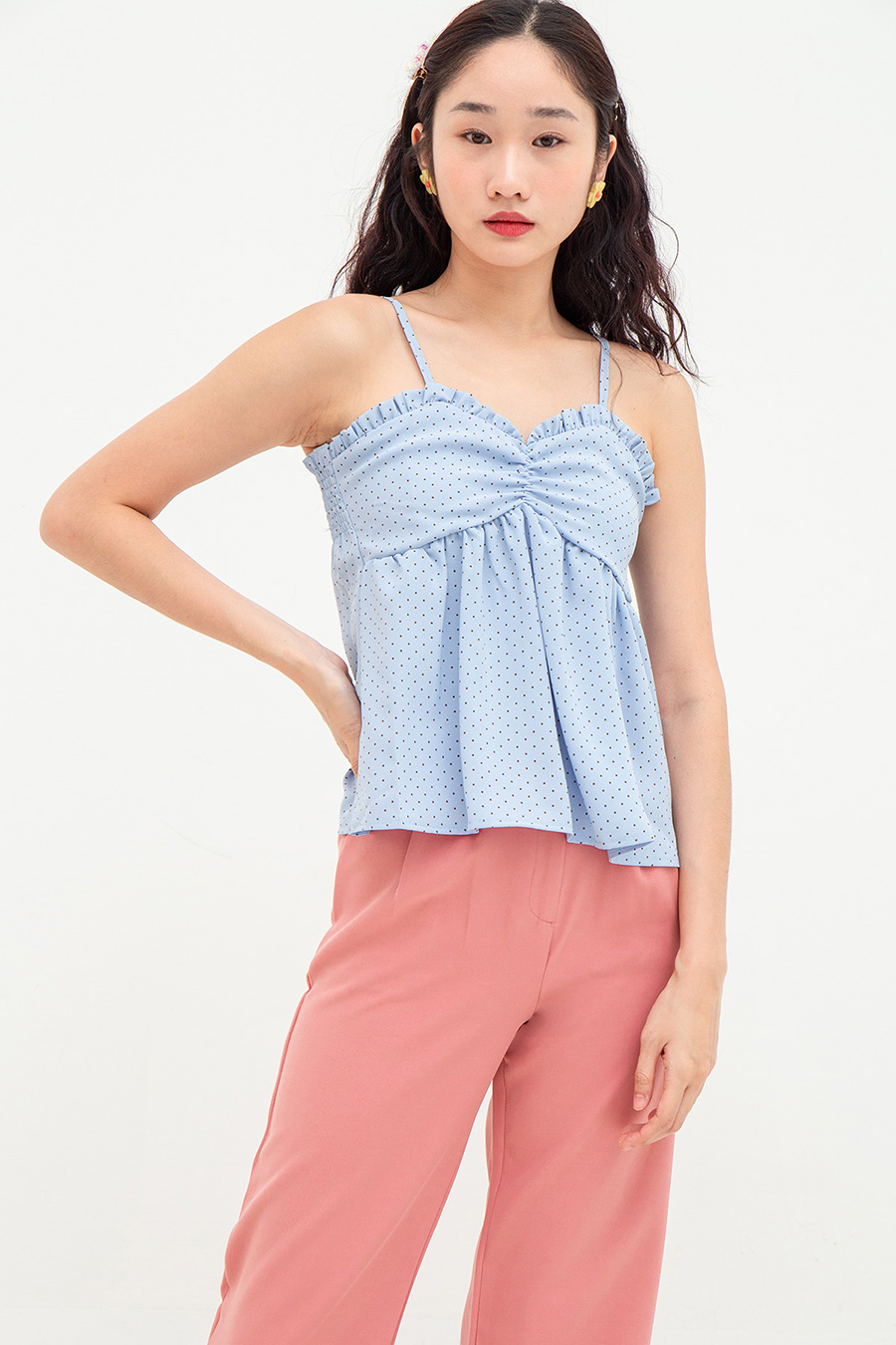 GAELLE TOP - PERRY DOTTY