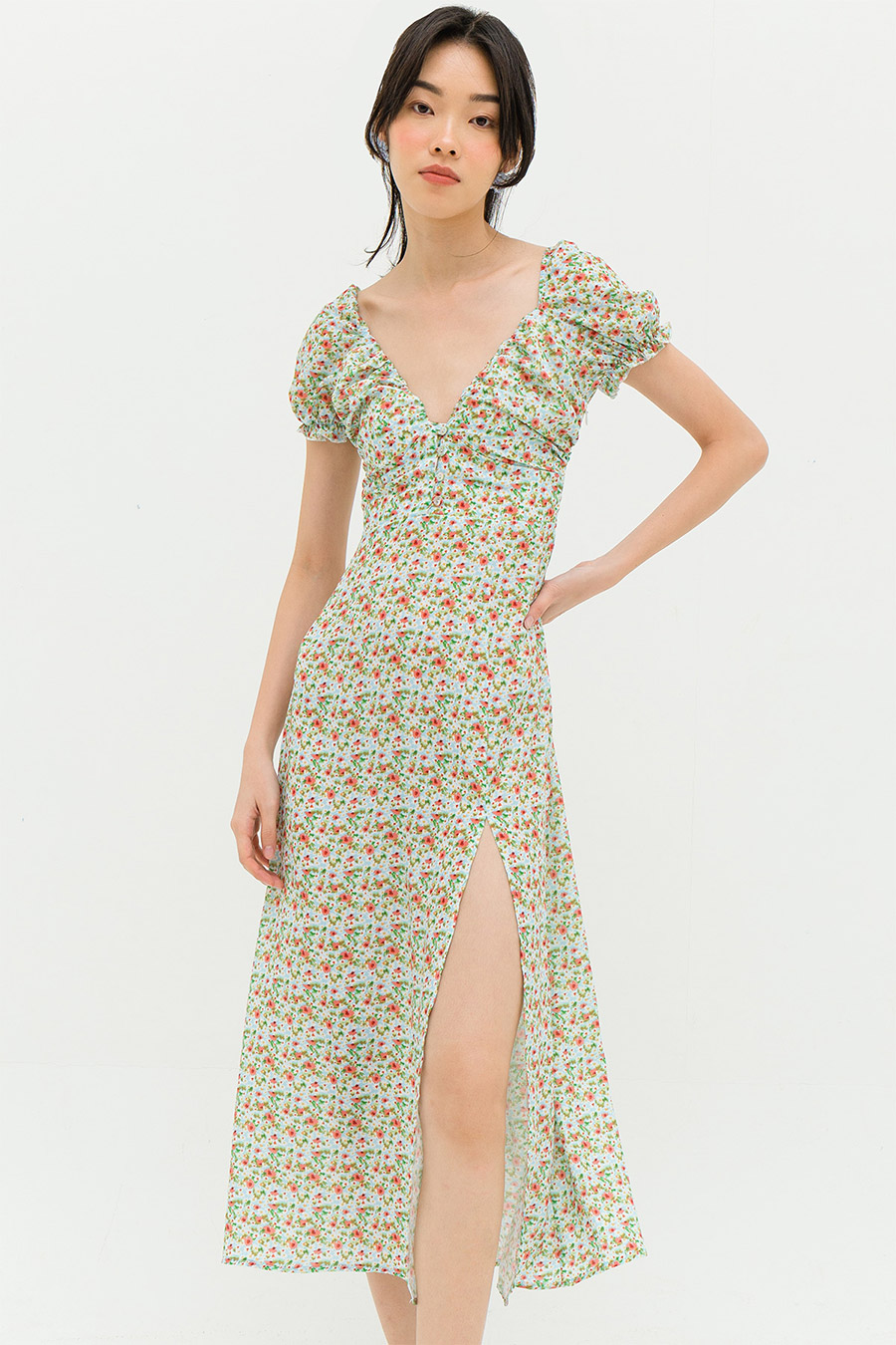 *BO* GALATEA DRESS - MORNING GLORY