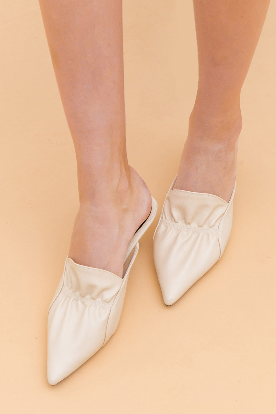 GALLA SHOE - IVORY