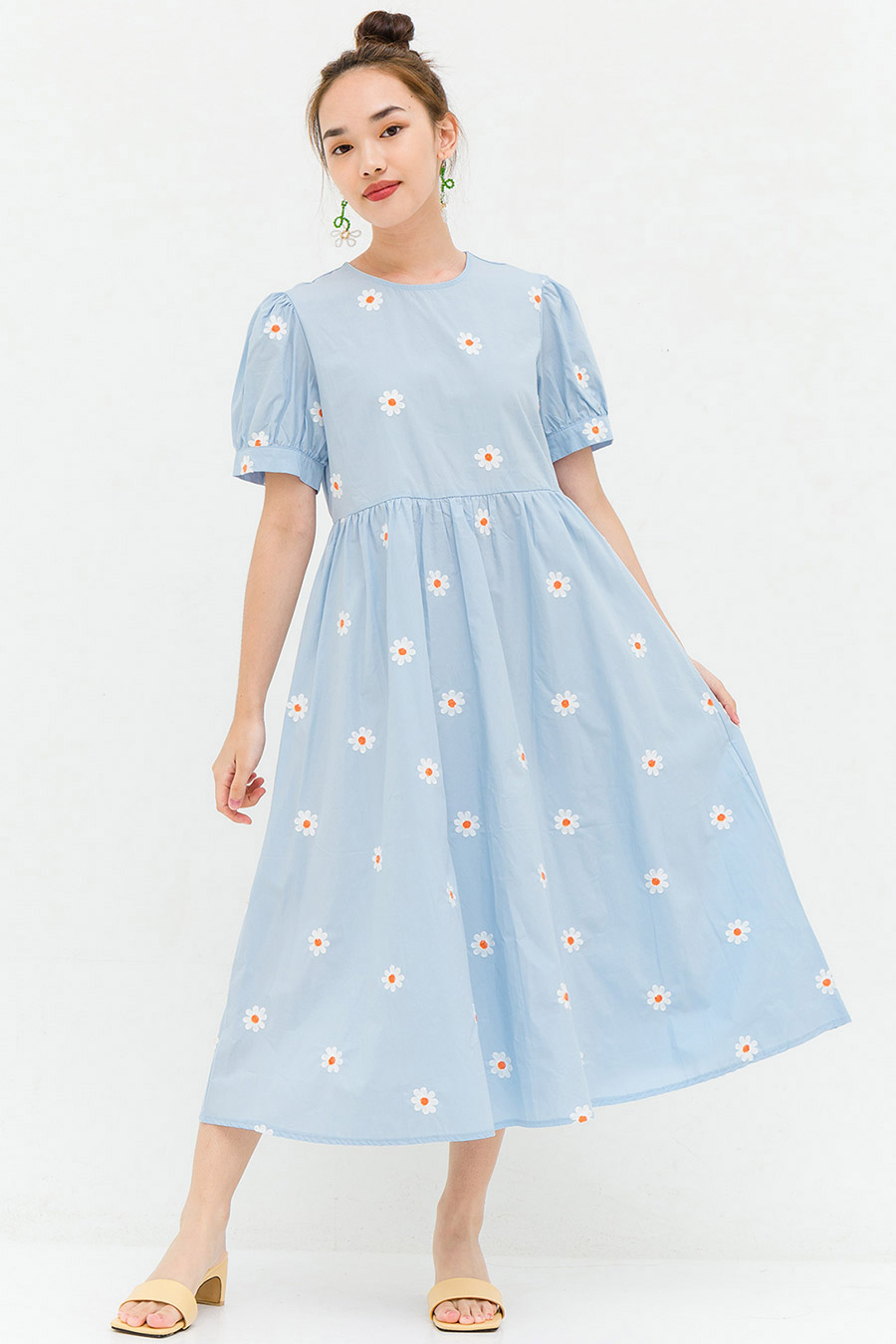*BO* GARRETT DRESS - POWDER FLEUR