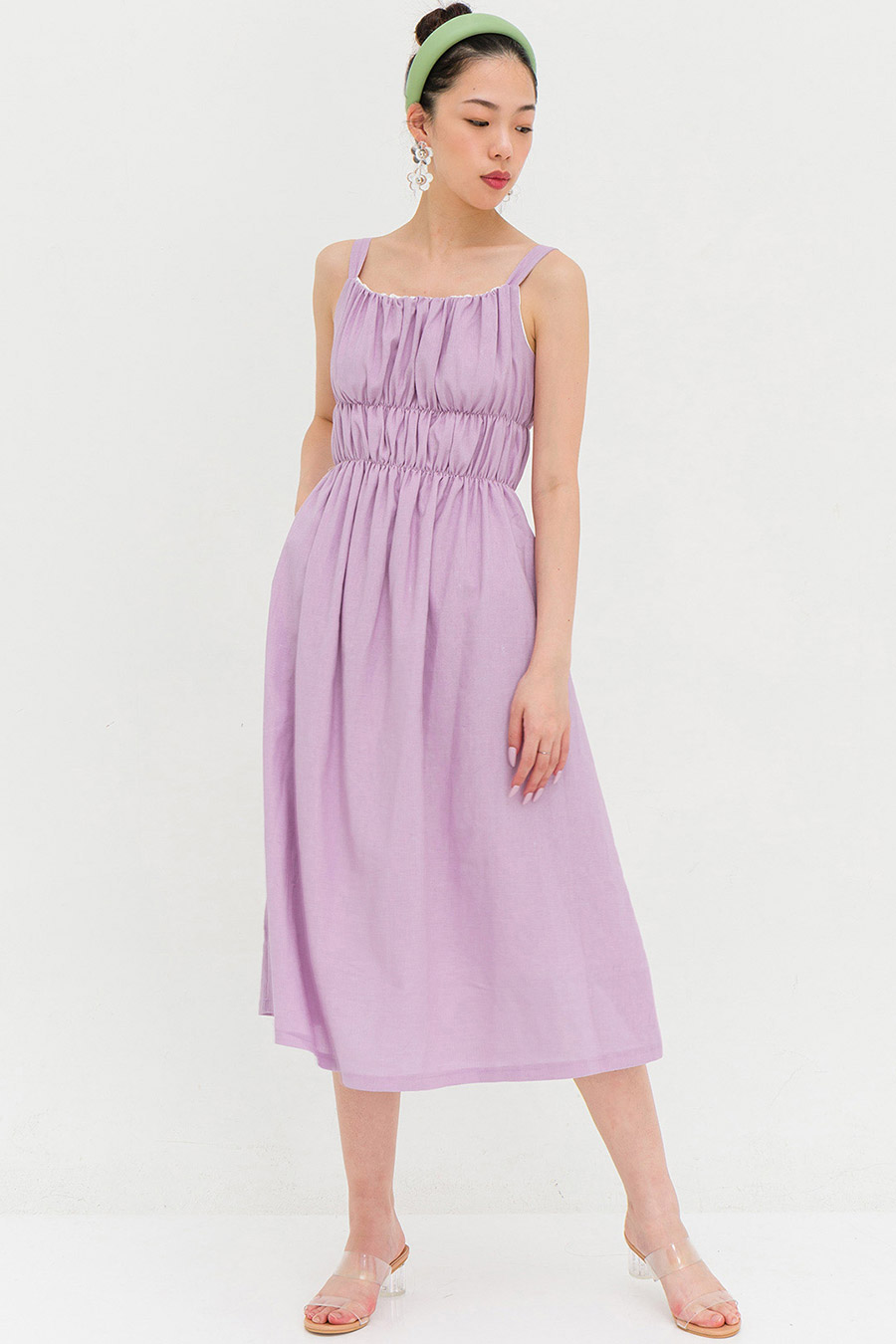 GAUTIER DRESS - LAVENDER [BY MODPARADE]