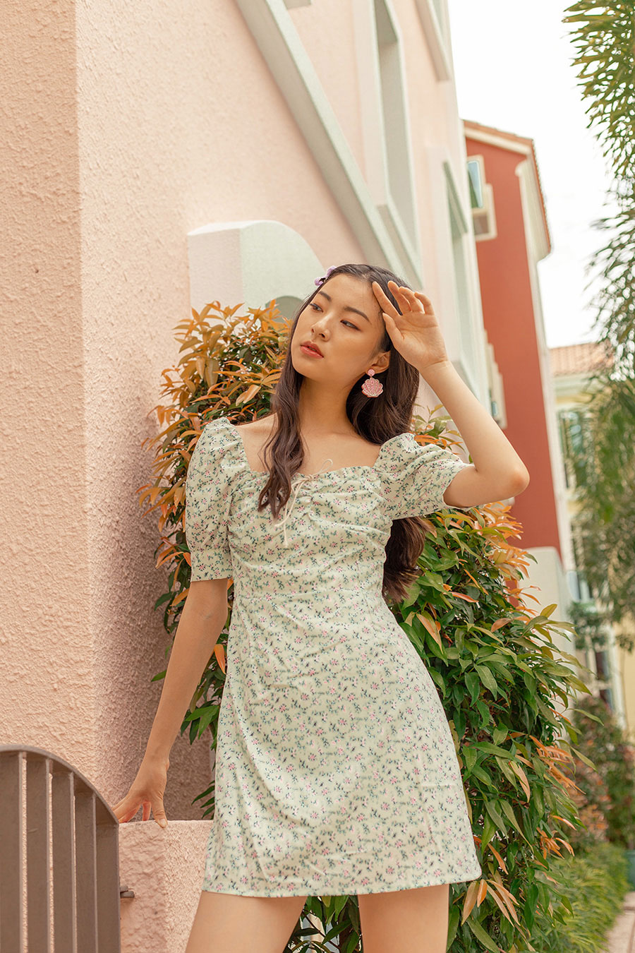 *BO* GEMMA DRESS - NEMESIA