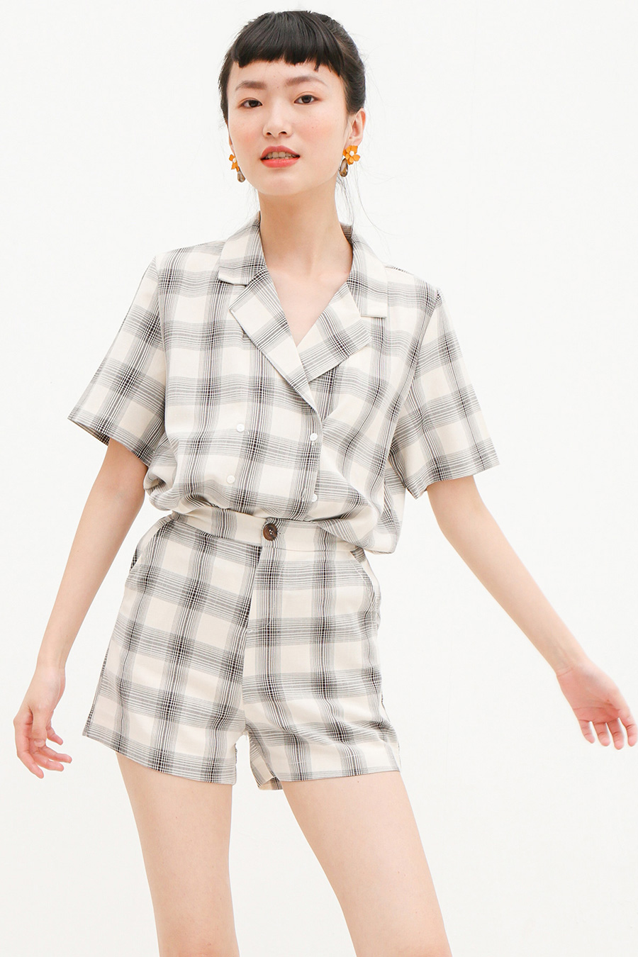 *RESTOCKED* GENET SET - PLAID
