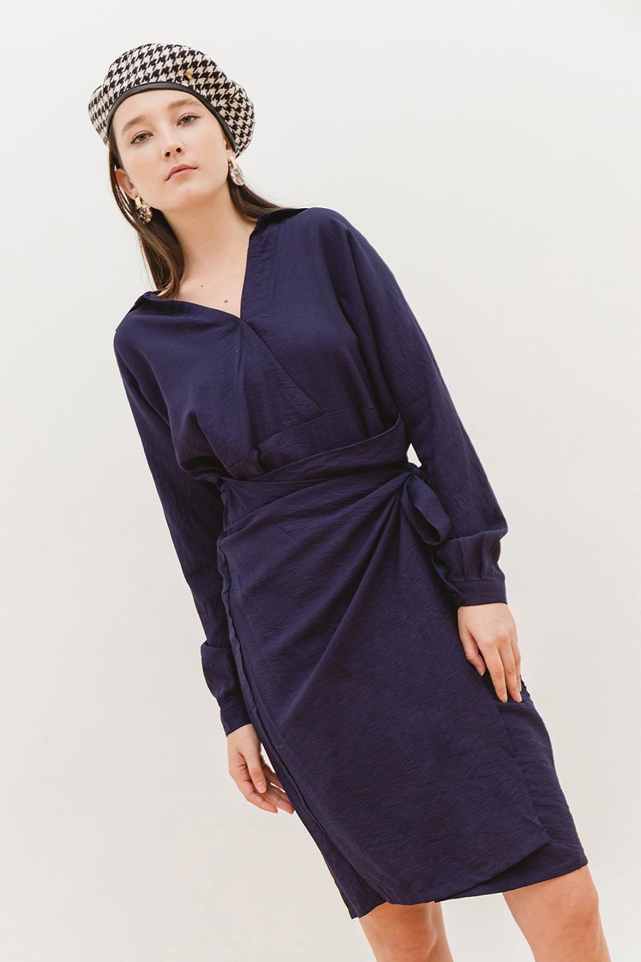 GENNARO DRESS - MIDNIGHT