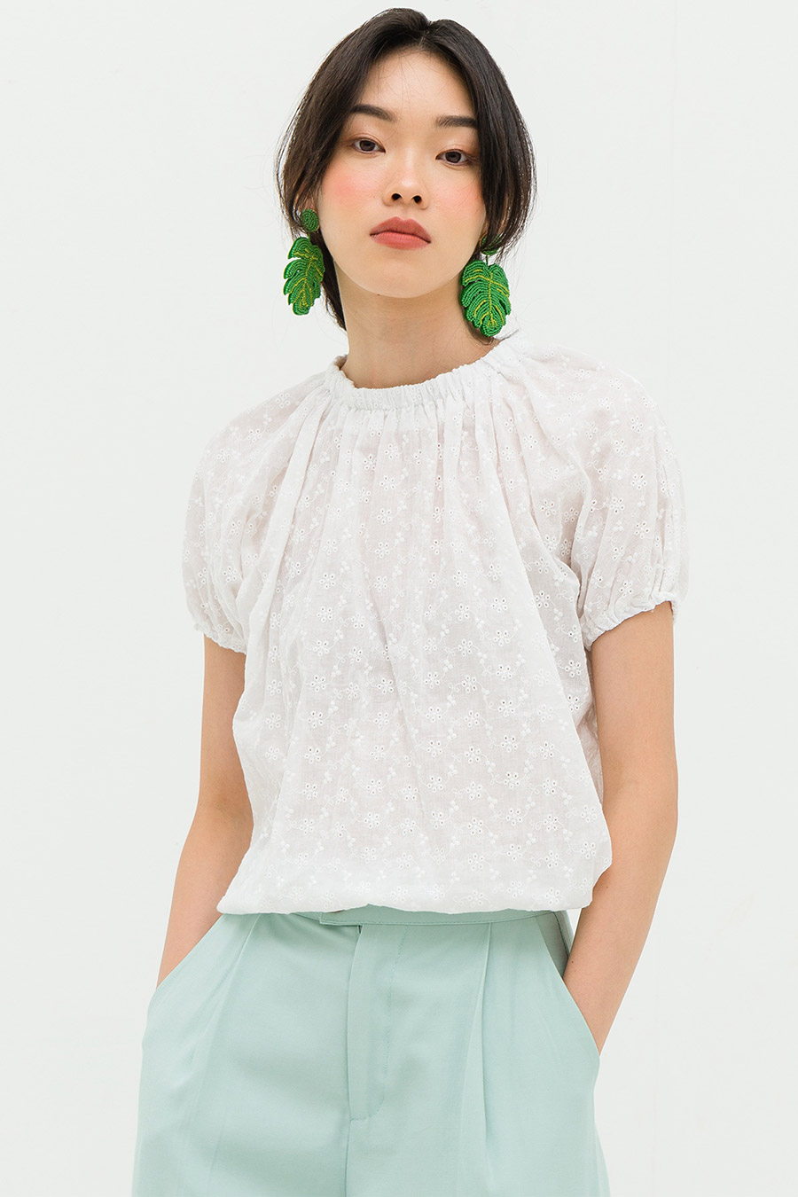 GEROME TOP - IVORY