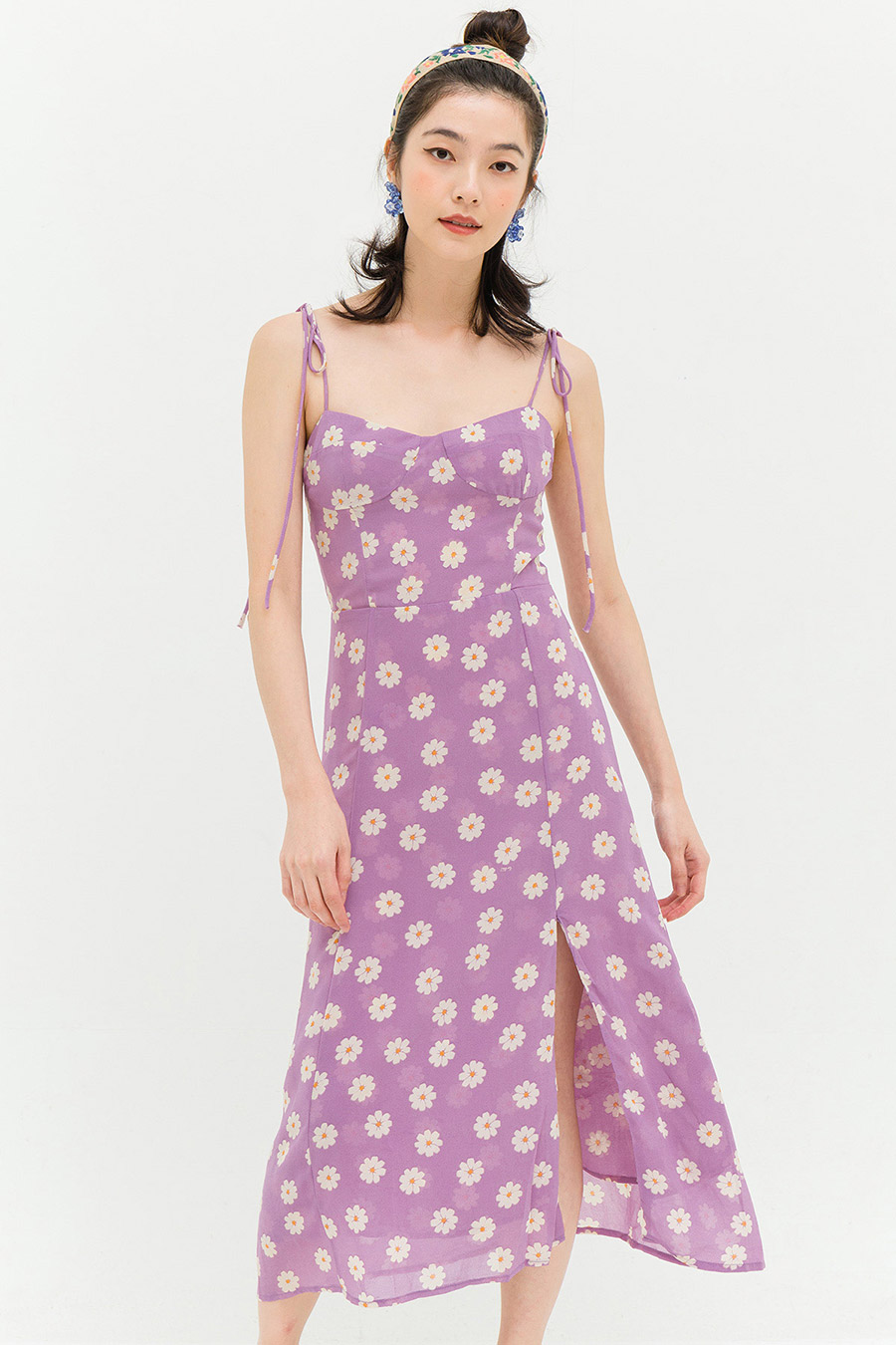 *BO* GRACIE DRESS - LAVENDER DAISY