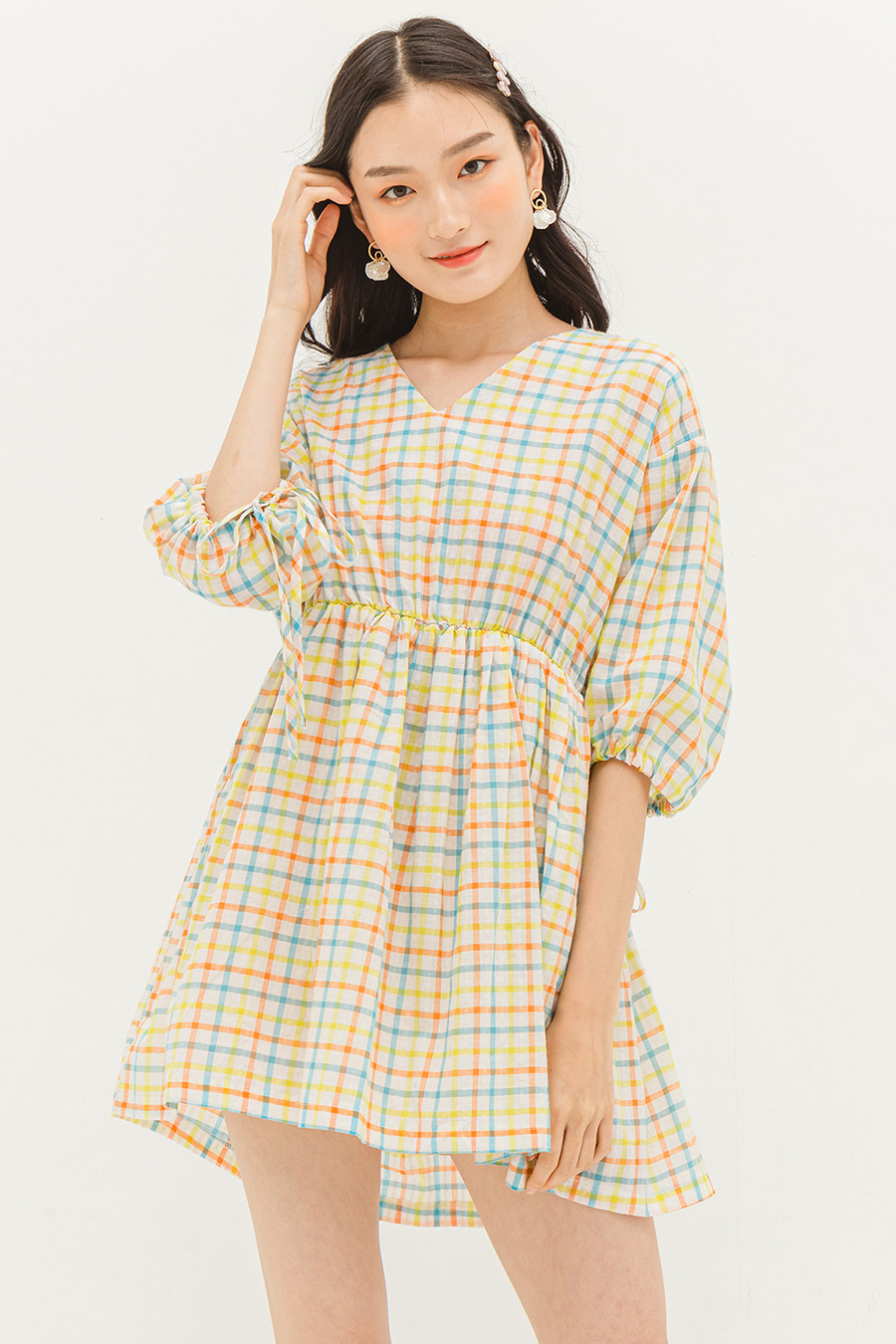 *BO* GRACIE DRESS - MADRAS