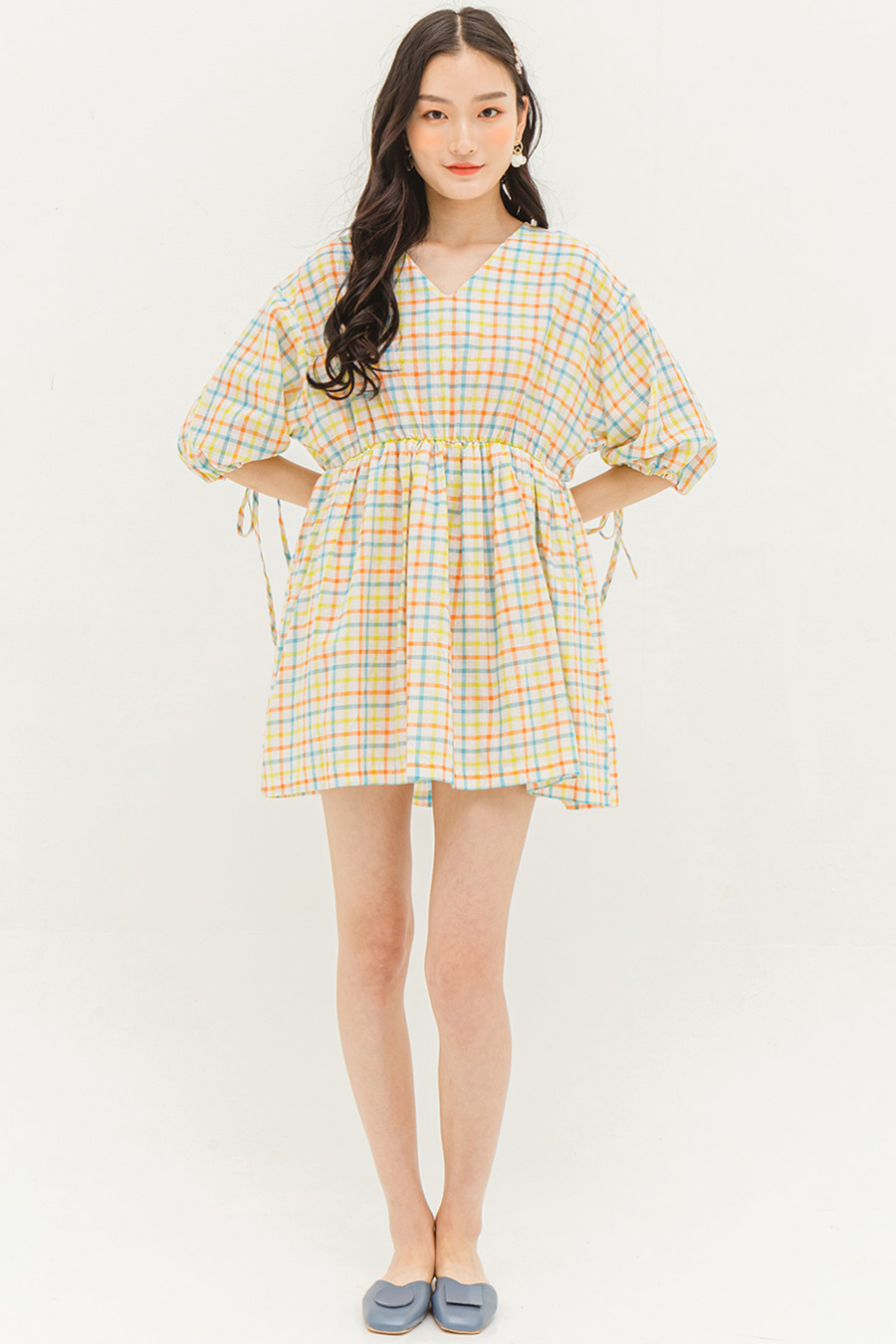 GRACIE DRESS - MADRAS