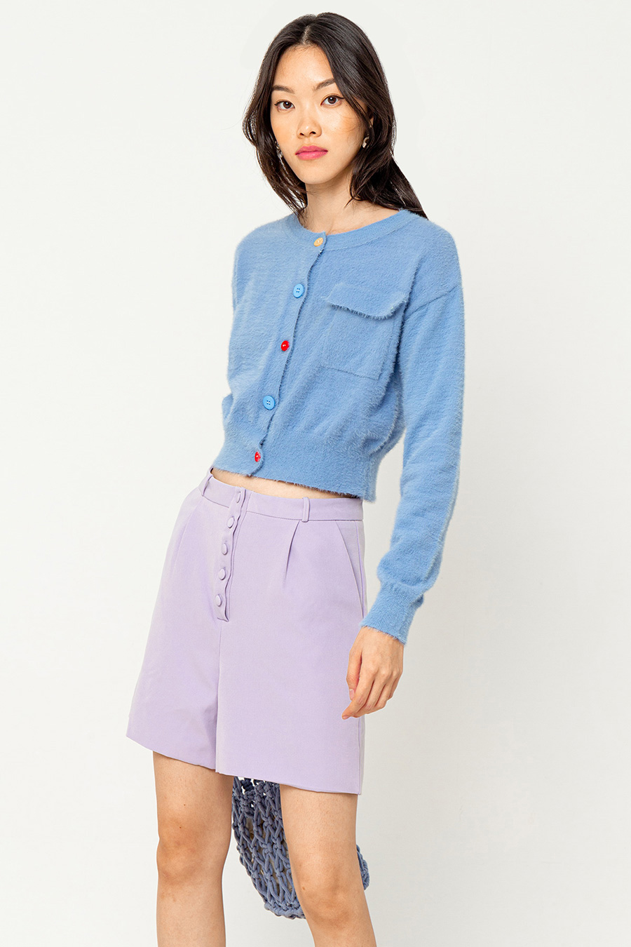 *SALE* GRIFFY SHORTS - LAVENDER
