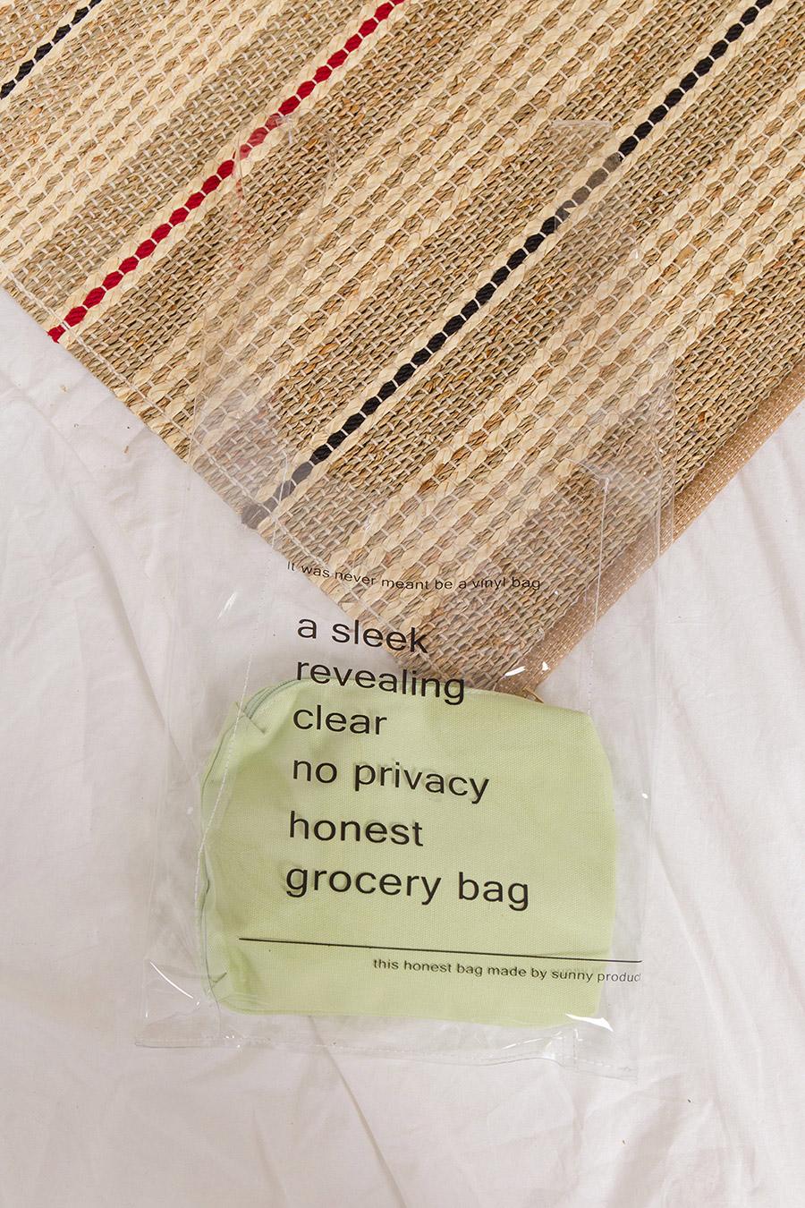 *SALE* GROCER BAG - GREEN