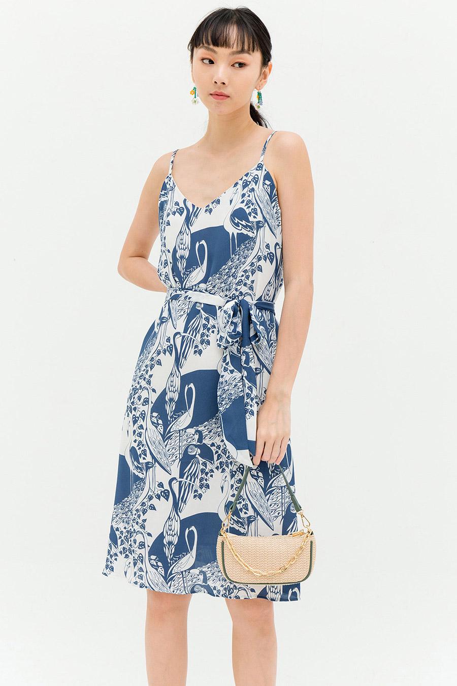 HALLE DRESS - BLUEBIRD