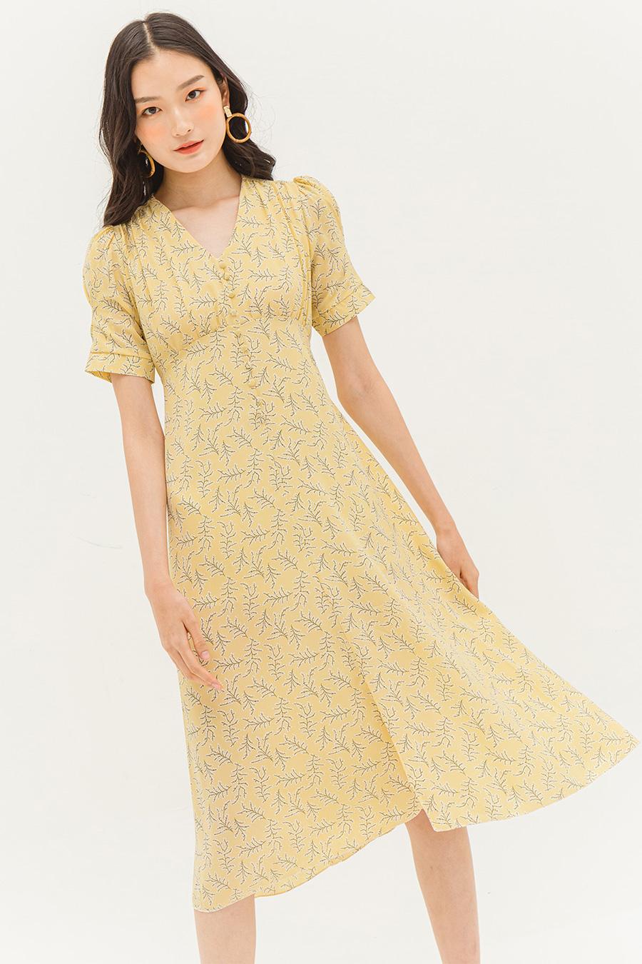 *BO* HANNAH DRESS - BUTTER FLEUR