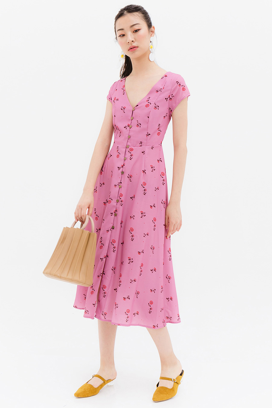 *BO* HARLEN DRESS - PANSY