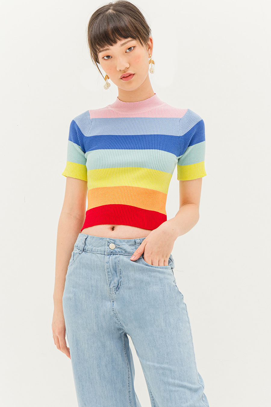 *RESTOCKED* HARPER TOP - RAINBOW