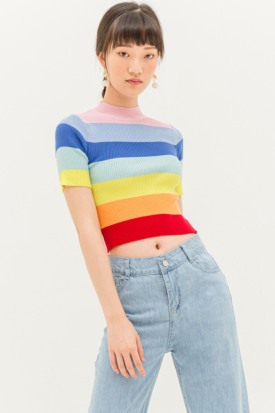 *BO* HARPER TOP - RAINBOW