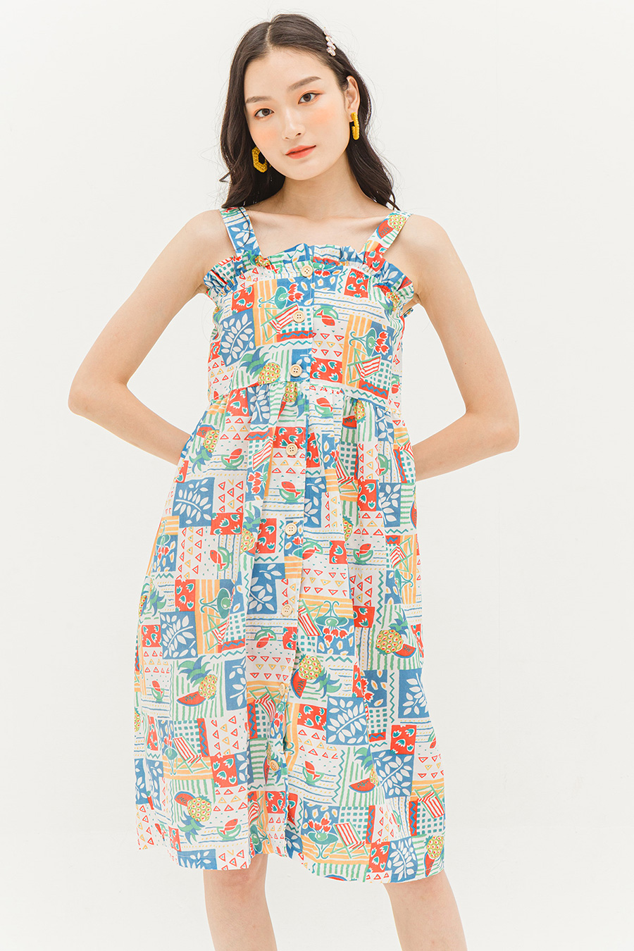 *BO* HARTLEY DRESS - PATCHWORK