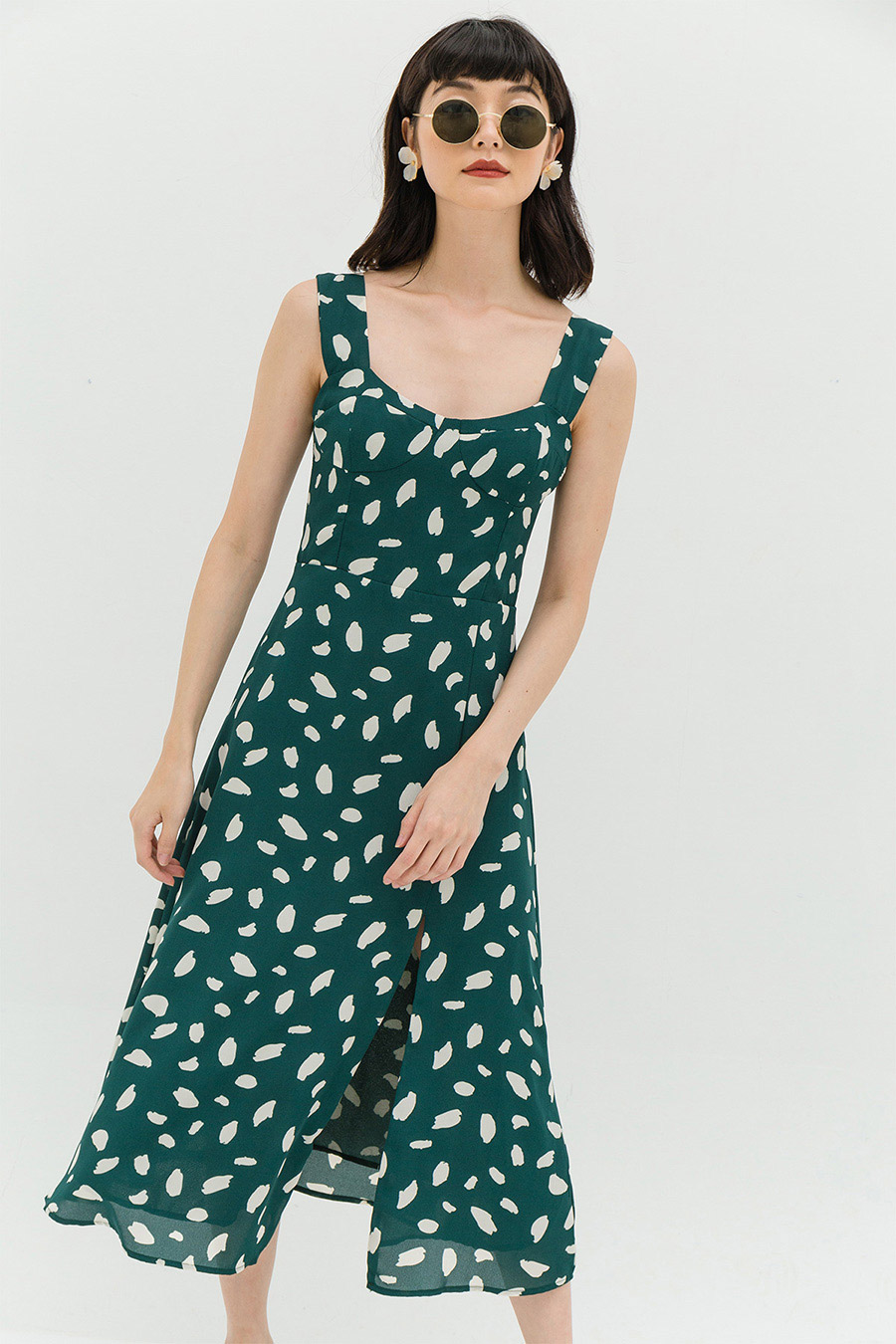 *RESTOCKED* HELENE DRESS - MEDITERRANEA