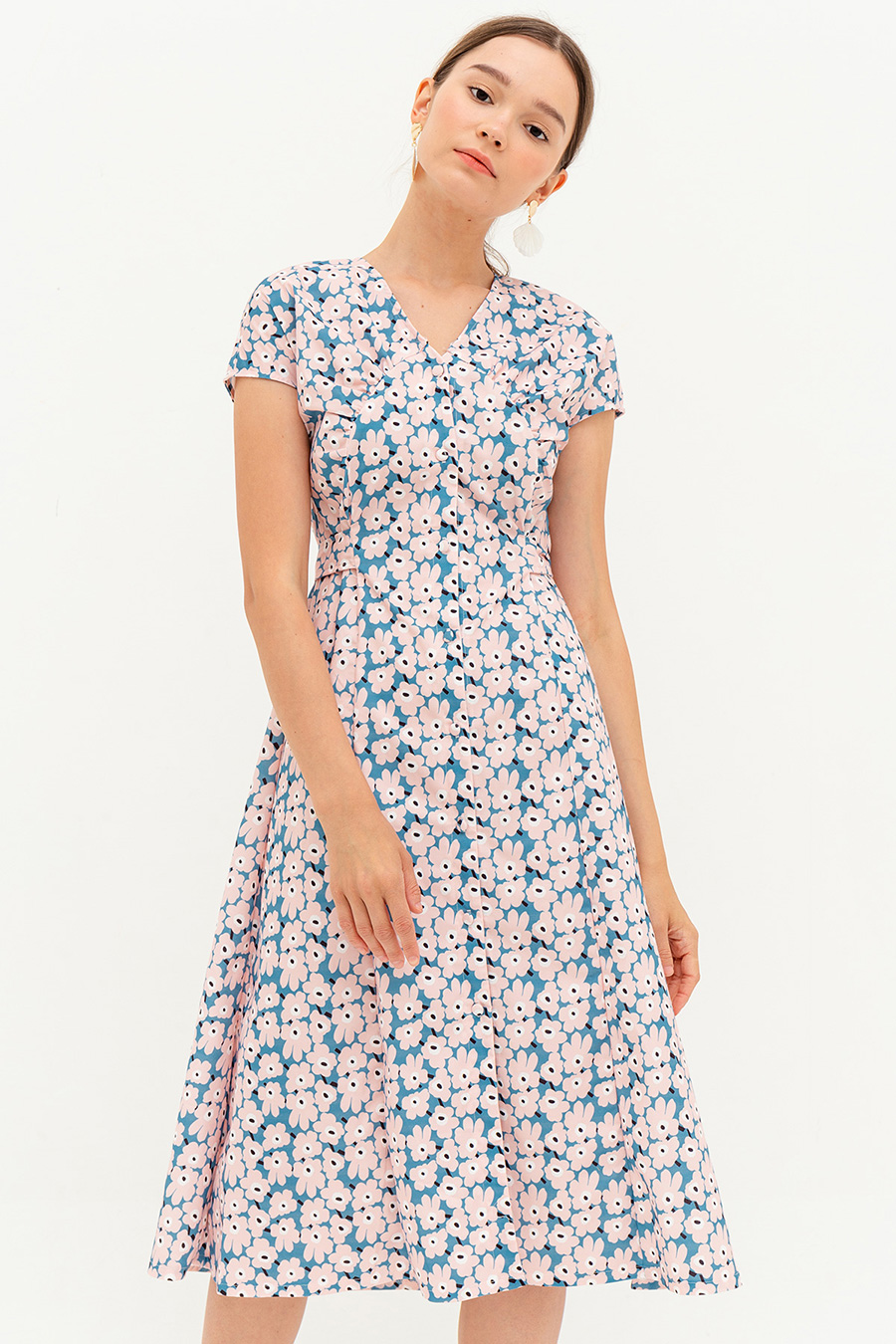 *BO* HERMINE DRESS - DANDELION [BY MODPARADE]
