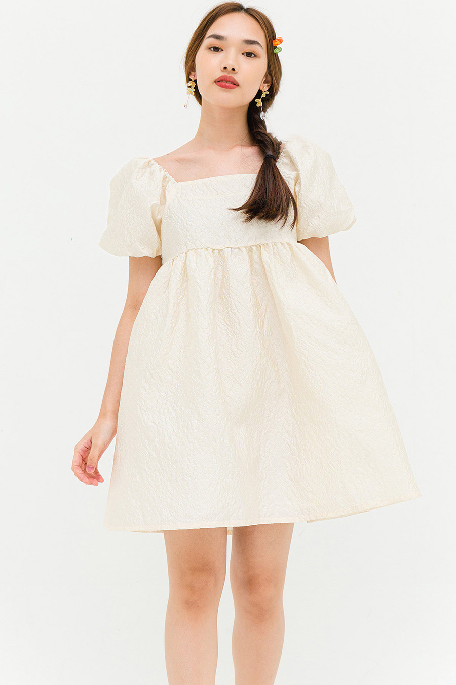 *RESTOCKED* HOFFMAN DRESS - IVORY