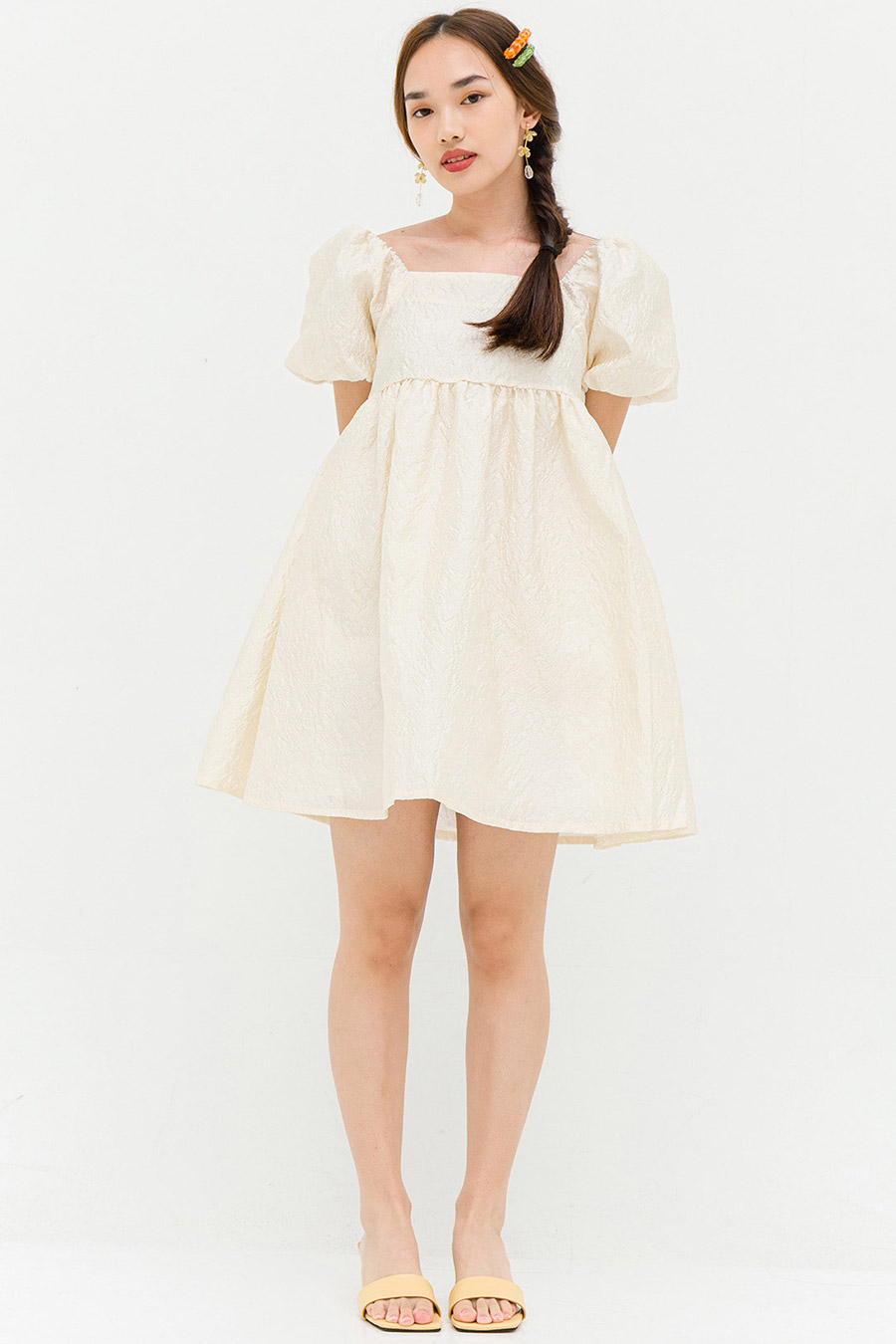 *BO* HOFFMAN DRESS - IVORY