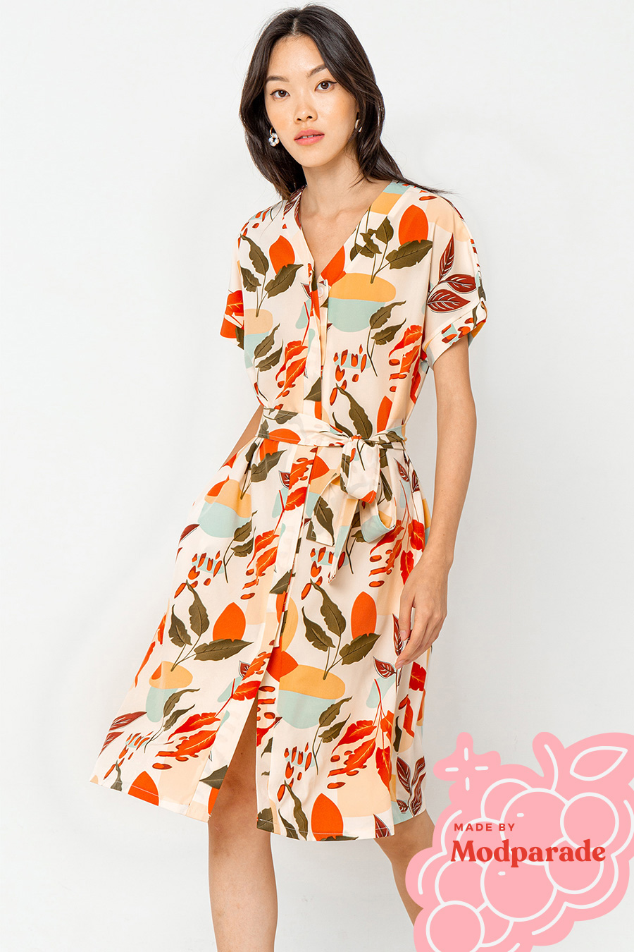 *BO* HOLMES DRESS - CALLA [BY MODPARADE]