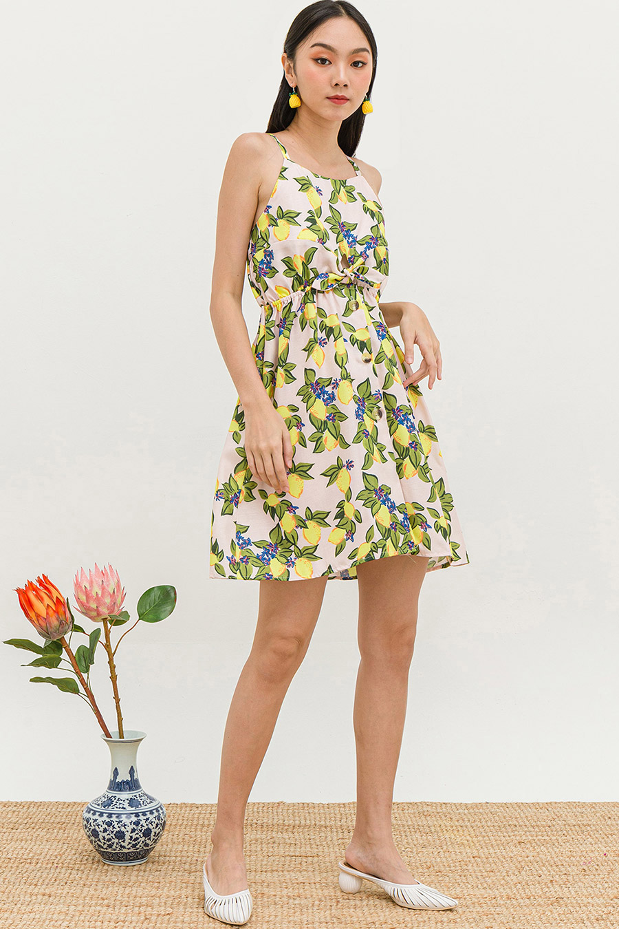 HOYE DRESS - LEMONADE