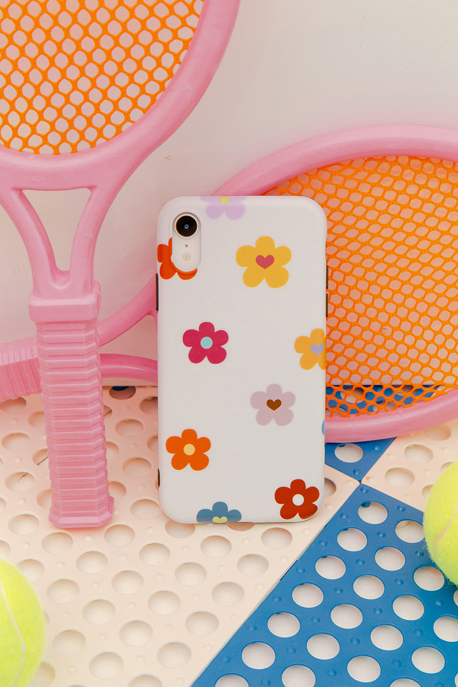 *SALE* IPHONE CASE - IVORY POPPY