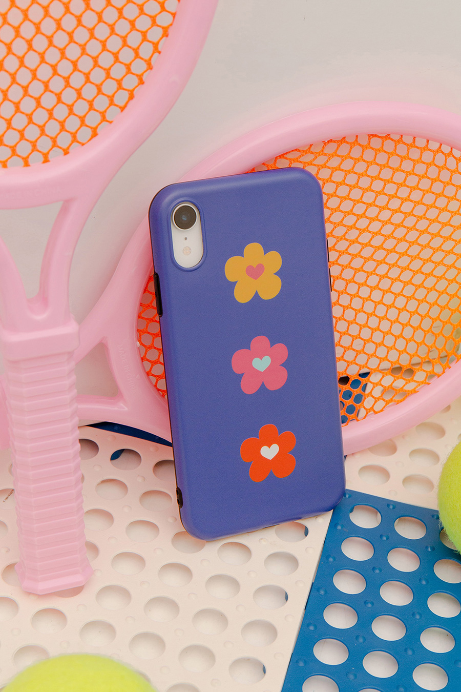 *SALE* IPHONE CASE - NAVY POPPY
