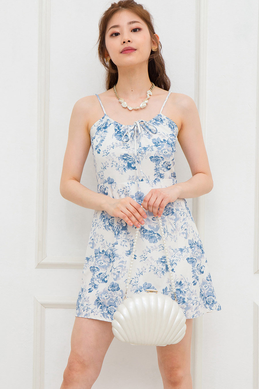 *RESTOCKED* IRENE DRESS - PORCELAIN