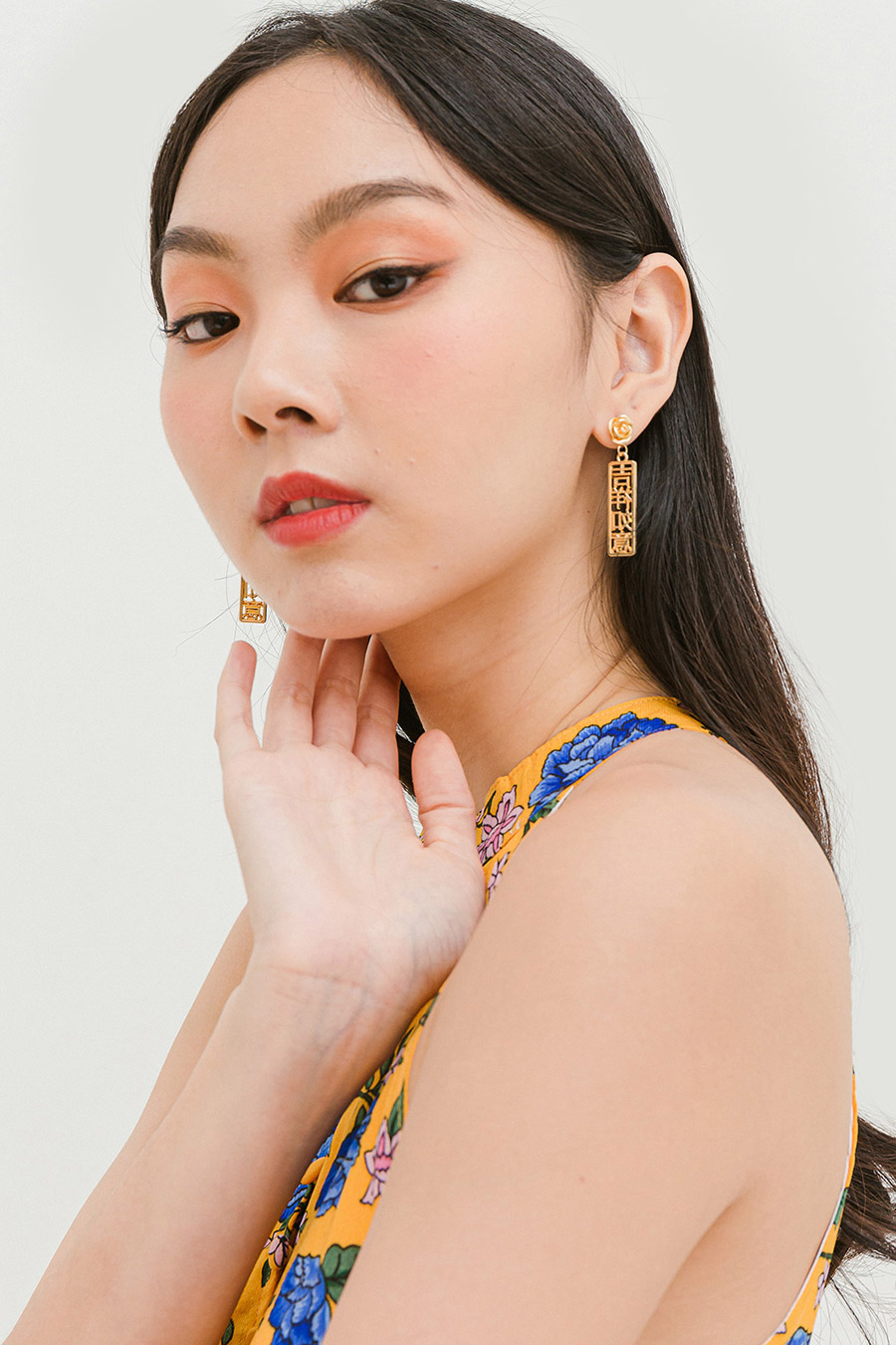 *BO* JI XIANG EARRING - GOLD