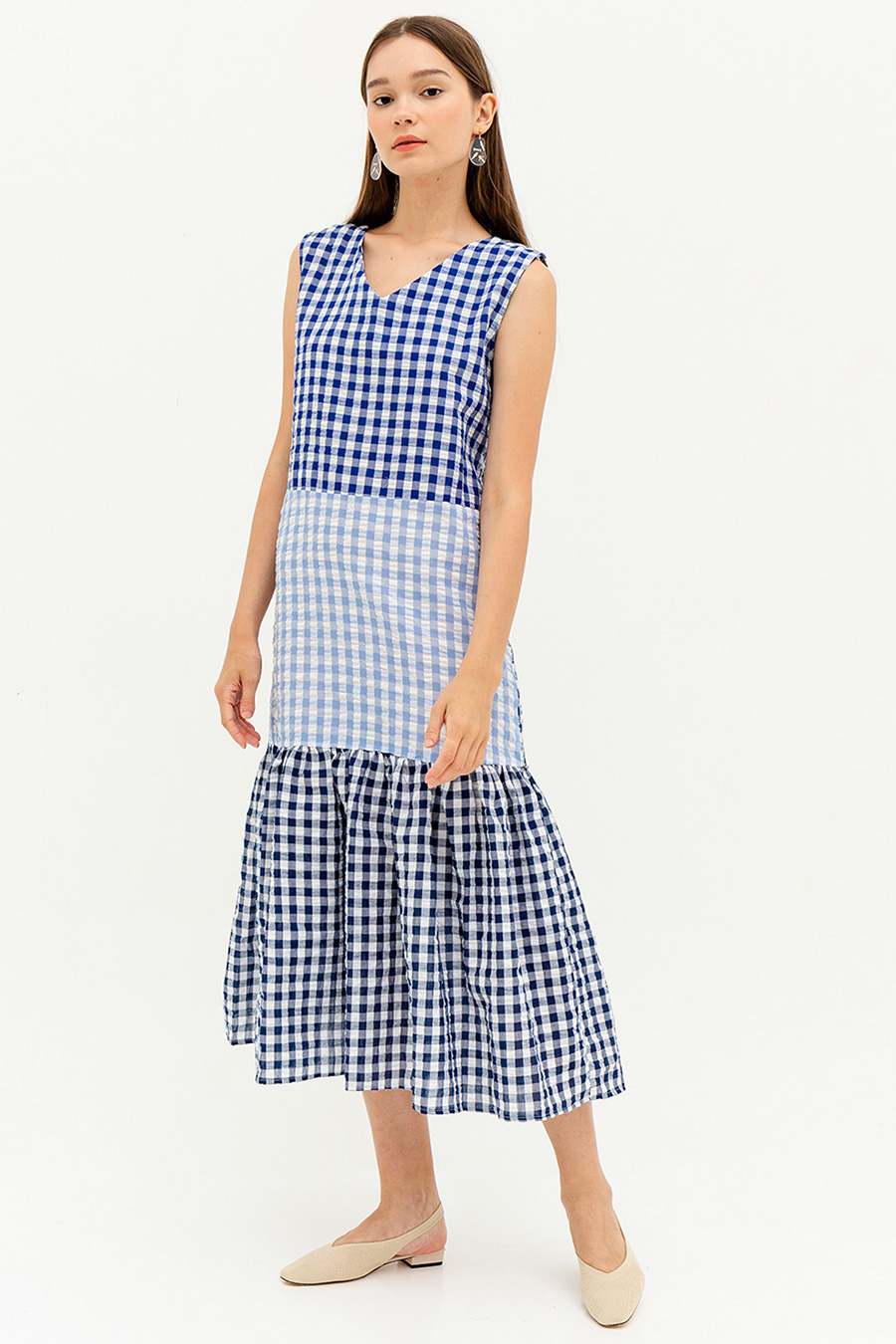 *SALE* JIMENA DRESS - GINGHAM