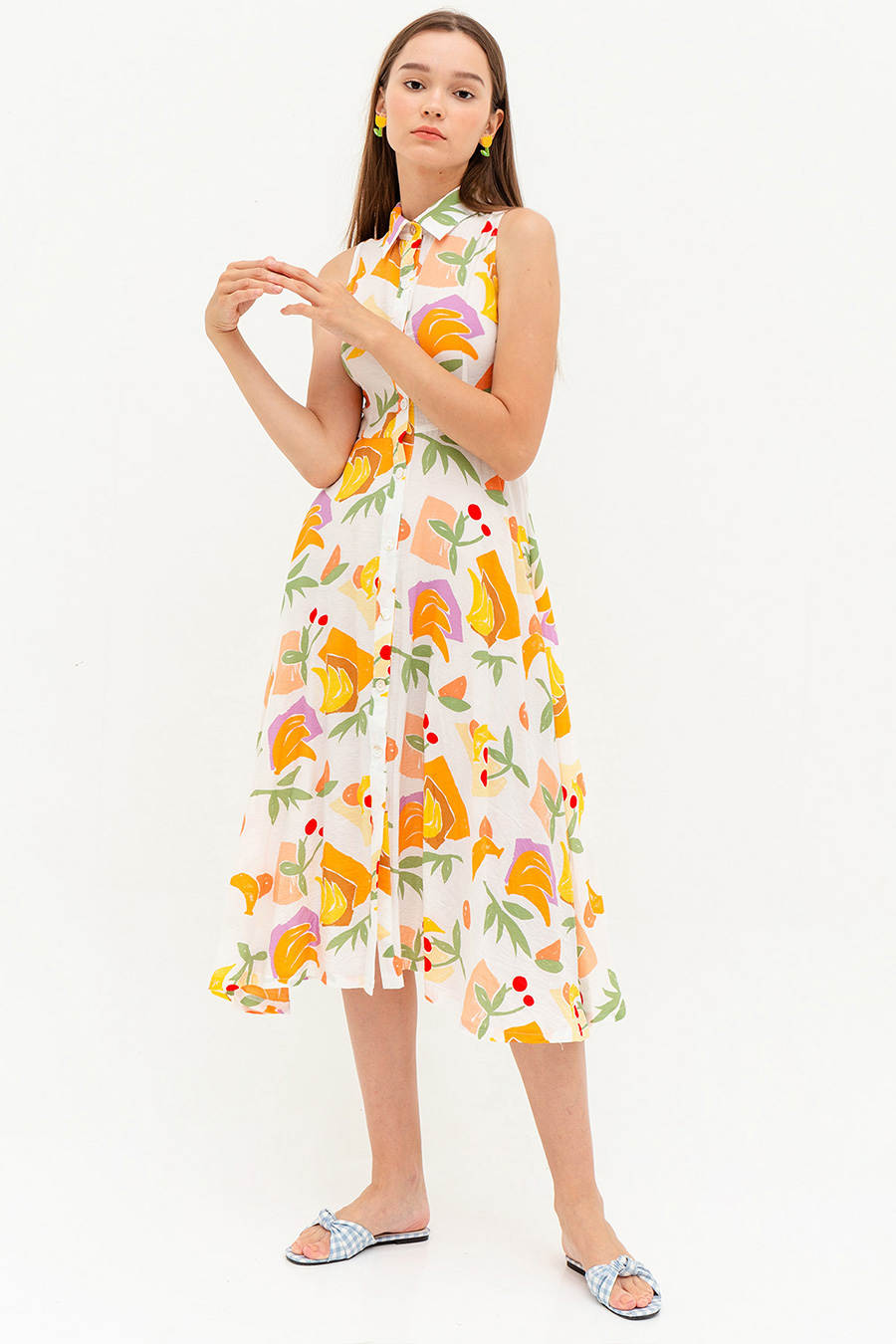 *RESTOCKED* JOSIE DRESS - FRUITIE [BY MODPARADE]
