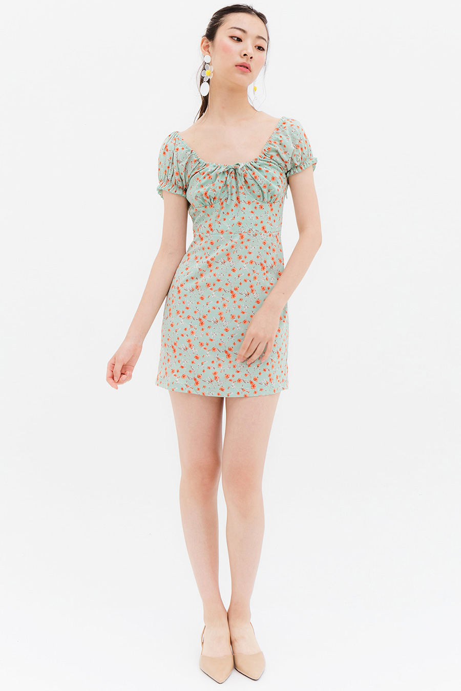 *BO* JOURNAL DRESS - MINT TEA