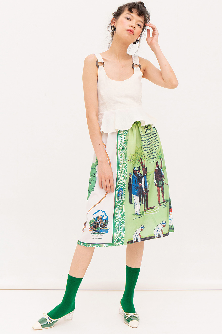*RESTOCKED* JUDICAEL SKIRT - MAP