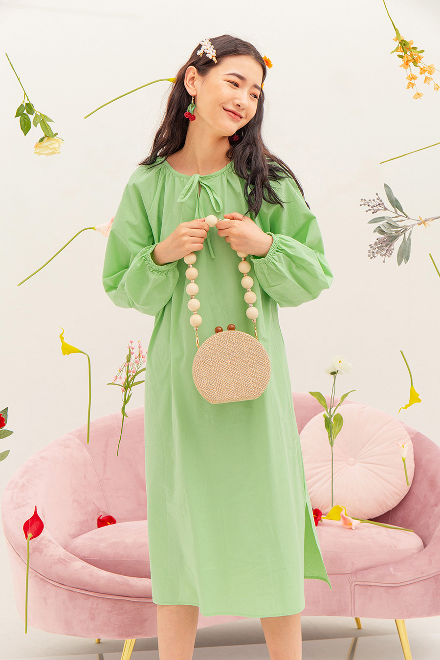 JUDITH DRESS - MINT