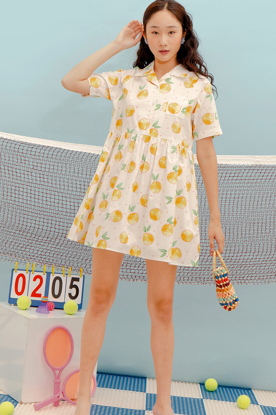 *BO* JULIA DRESS - CITRUS